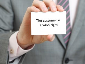 Memo to Lawyers: The Customer is Always Right