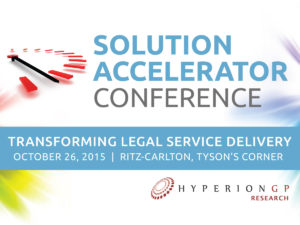 The Fall 2016 Solution Accelerator Conference